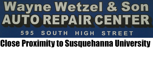 Wayne Wetzel & Son Auto Repair Center